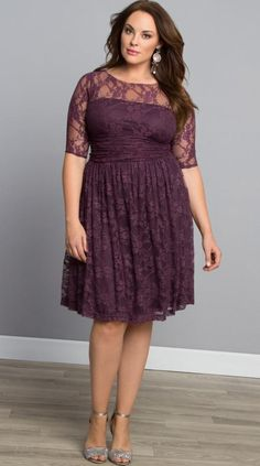 Plus size lace dresses for women - http://plussize-dresses.info/?p=1822 #dress #plussize #woman #Fashion2016 #fallfashion #plussizefashion