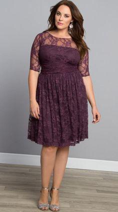 Plus size lace dresses for women - http://plussize-dresses.info/?p=1822 #dress #plussize #woman #Fashion2016 #fallfashion #plussizefashion