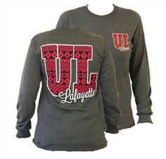 Southern Couture ULL Ragin Cajuns Aztec Tribal University of Louisana | SimplyCuteTees