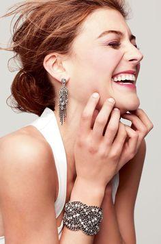 Petra Braided Bracelet #chains #silver #chaindetail #statement #jewelry #fashion