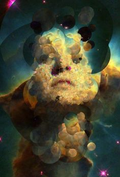 "Cosmic Portraits Created From Hubble Space Telescope Images  Photos © Sergio Albiac In less than 60 days, artist Sergio Albiac has created more than 11,000portraits. This kind of productivity, no doubt, seems unfathomable—until you consider his artistic method. Albiac is a practitioner of generative art, a discipline in which artists employ non-human assistants—often computers—to make aesthetic decisions. ""An artist has the potential to create infinite artworks but only so…"