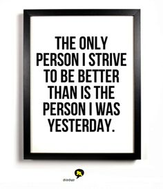 """""""The only person I strive to be better than is the person i was yesterday"""". #chitrchatr #EarlySubscriptionsPromo"""