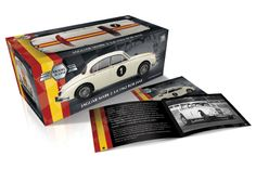 Racing driver, Bob Jane's famous car. Packaging and limited edition certificate/booklet for die-cast model cars. Available to buy in Modelzone, model/hobbyist shops or, if you get stuck, ebay!