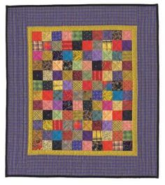 Postage Stamp Quilt Project