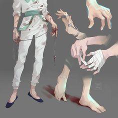 Anime: Hunter x Hunter <Don't forget to support the artist> Manga Anime, Anime Guys, Anime Art, Hunter Anime, Hunter X Hunter, Drawing Reference, Art Reference Poses, Kalluto Zoldyck, Yoshihiro Togashi