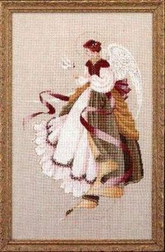 Angel of Grace by Lavender and Lace - Cross Stitch Kits & Patterns