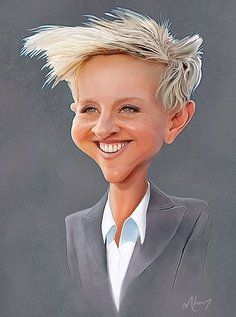 Who couldn't love ellen? I didn't know whether to place this in my favorite people or art I love. This is great!