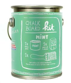 TMOD Chalkboard Paint - Mint | NoteMaker - Australia's Leading Online Stationery Shop