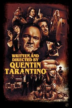 Iconic Movie Posters, Movie Poster Art, Iconic Movies, Film Posters, Tarantino Films, Quentin Tarantino, Dog Films, Rick And Morty Poster, Film Poster Design