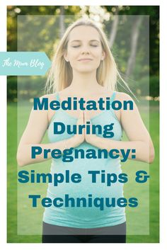 Meditation During Pregnancy: Simple Tips and Techniques - Pregnancy Yoga - Guided Meditation, Transcendental Meditation Technique, Easy Meditation, Meditation Benefits, Meditation Techniques, Healthy Pregnancy Tips, Pregnancy Health, Pregnancy Workout, Pregnancy Vitamins
