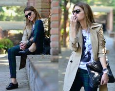 CHECKED PANTS (by Mireia MDS) http://lookbook.nu/look/3223839-CHECKED-PANTS