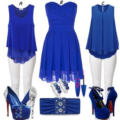 I would like to try this blue dress,how about u?  Find More: http://www.imaddictedtoyou.com/