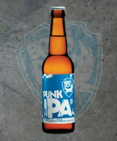 One of life's little pleasures. A cold bottle of this and a bowl of nuts is all a man truly needs...okay, so maybe not but it is damn good all the same!  BrewDog Punk IPA (5.6%)