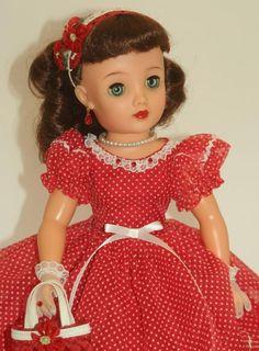 "RARE 18"" Brunette DREAM DOLL! Ideal's Miss REVLON vt-18 Vintage 50's Cissy pal"