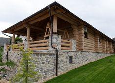 Kültéri kő falburkolatok - Otti Manufactura Houses, Cabin, House Styles, Home Decor, Homes, Decoration Home, Room Decor, Cabins, Cottage