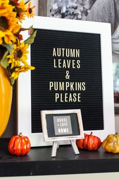 bfcea09d94 or  autumn leaves   sweaters please -- Fall Letterboard Inspiration