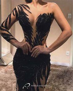 Gown  Traje de Noche  Patricia Nascimento