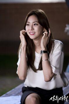 AFTER SCHOOL - Uee #유이 (Kim YuJin #김유진) on set of High Society (#상류사회) 150612