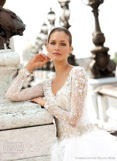 Cymbeline for Hanae Mori Spring 2011 Bridal Collection | Wedding Inspirasi