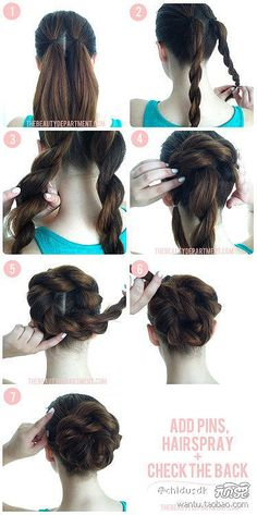 Double Coil Bun, so simple yet effective
