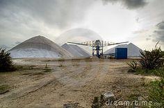 Salt mine in south of Spain- Industrial plant