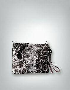 Calvin Klein Clutch weiß-schwarz KSO003 PPA00 093