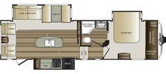 Keystone RV 280RLS floorplan