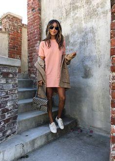 CARA DRESS - ROSE
