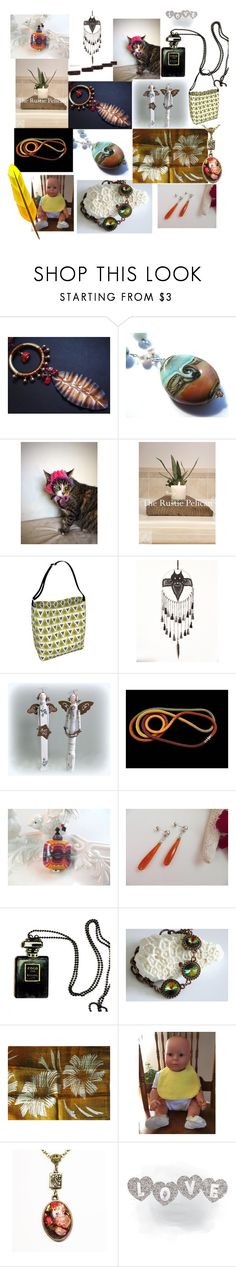 """""""Love-ly Gifts"""" by anna-recycle ❤ liked on Polyvore featuring Chanel, modern, rustic and vintage"""