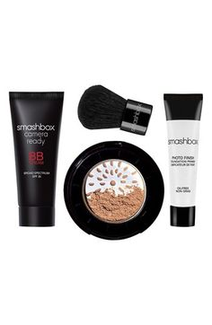 Smashbox BB 'try it' kit: A five-in-one complexion miracle that moisturizes, primes, perfects, protects and controls oil all in one step. love this stuff!