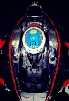 In the Paddock with #F1 Pilot: Fernando Alonso at the 2015 Bahrain Grand Prix