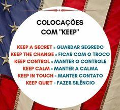 English Tips, English Study, English Lessons, Learn English, English Verbs, English Phrases, English Grammar, Portuguese Lessons, Learn Portuguese