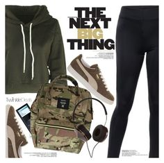 """Street Style"" by pokadoll ❤ liked on Polyvore featuring Puma, Frends, polyvoreeditorial and polyvoreset"