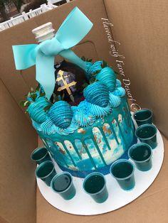 Alcohol Birthday Cake, 19th Birthday Cakes, Alcohol Cake, Funny Birthday Cakes, Pretty Birthday Cakes, Custom Birthday Cakes, Adult Birthday Cakes, My Birthday Cake, 20th Birthday