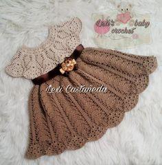 Como Fazer Roupas de Bebê de Crochê: Passo a Passos 46 Fotos Crochet Baby Poncho, Pull Crochet, Bonnet Crochet, Crochet Baby Dress Pattern, Baby Girl Crochet, Crochet Baby Clothes, Baby Knitting Patterns, Baby Patterns, Free Crochet