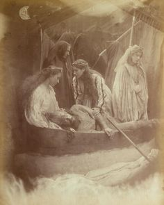 """""""The Passing of Arthur"""" by Julia Margaret Cameron (1875)"""