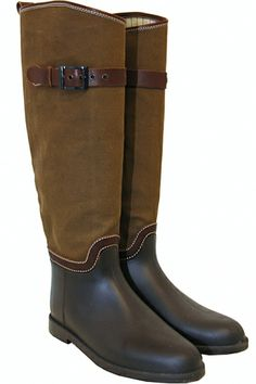 The Turnabout Shoppe Chloe Rain Boots (size 37 US size 6.5)
