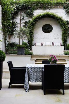 private terrace space