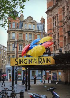 """Singin' in the Rain"" - Photographed, appropriately enough, in the rain."