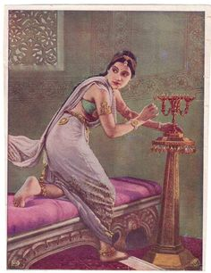 Vintage study in lavender and gold vintage sarees saree history
