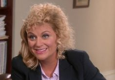 I think from now on I'll just have crushes on people that don't exist. / Parks and Rec