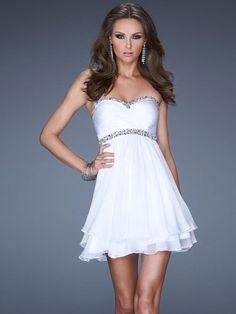 A-line/Princess Beading Sleeveless Sweetheart Chiffon Short/Mini Dresses