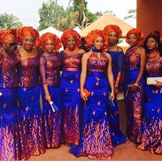 pictures of african traditional wedding dresses African Wedding Dress, African Print Dresses, African Print Fashion, Africa Fashion, African Dress, African Prints, African Bridesmaid Dresses, African Colors, African Attire