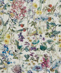 Liberty Art Fabrics Wild Flowers A Tana Lawn Cotton | Fabrics | Liberty.co.uk