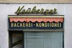 Bäckerei · Konditorei Neuberger, via Flickr.