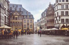 Trier, Germany (by ivvy million) #rain #rainy #Germany