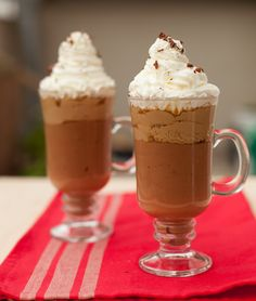 """Chocolate dessert """"three flavors"""".Deser czekoladowy trzy smaki."""