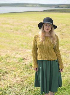 Snarravoe pattern by Gudrun Johnston Sweater Knitting Patterns, Hand Knitting, Knitting Ideas, Yarn Painting, Cowboy Hats, My Design, Ravelry, Pretty, Sweaters