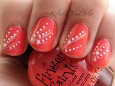 Like the little pattern on this one - Kelsie's Nail Files