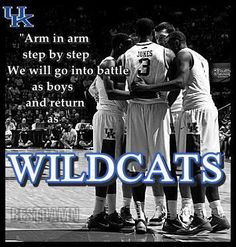 Kentucky Wildcats. We are the champions!!!